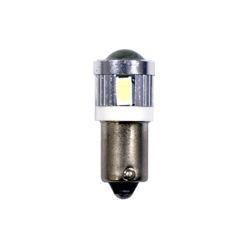 12V-24V Car Light Bulbs Ba9S 6 SMD LED Interior Reading Trunk Luggage - KoreaAutoAccessory