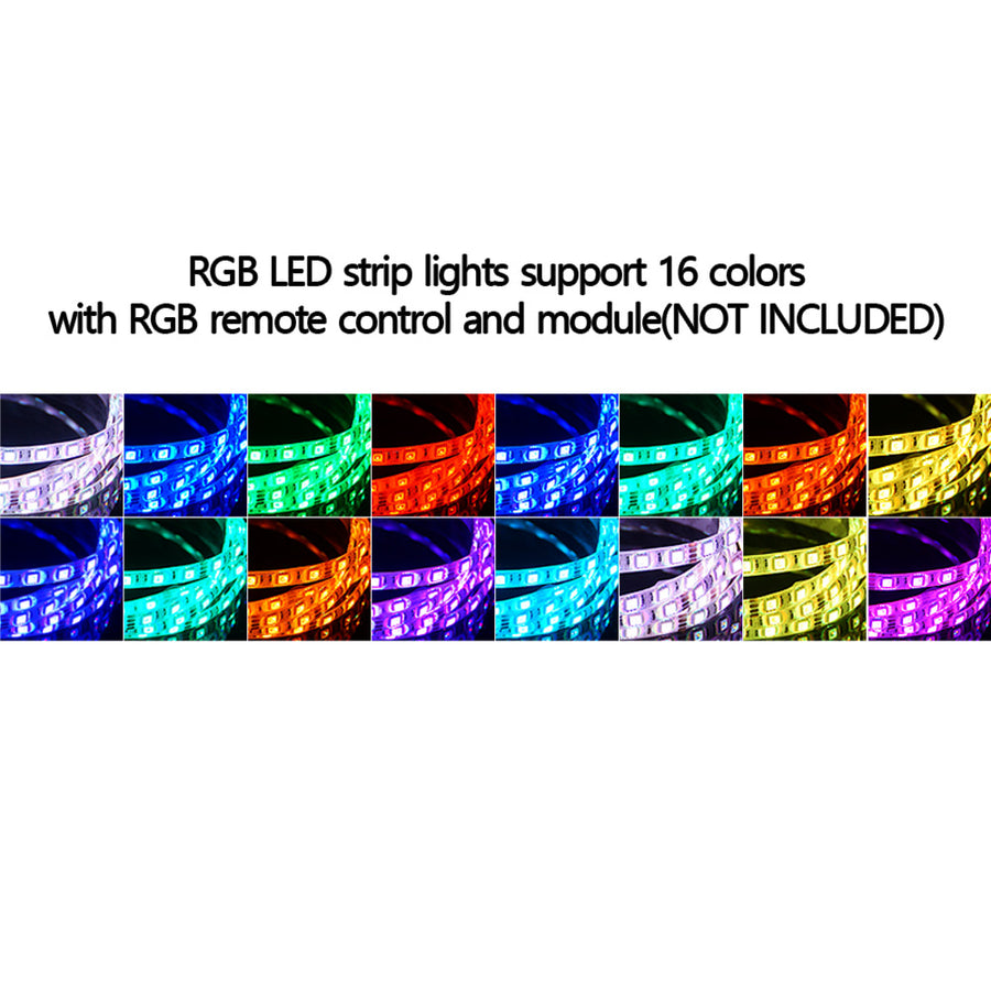 12V 24V 16.4 ft LED Flexible Strip Waterproof - KoreaAutoAccessory