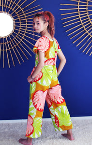 Giant Flower LPP Jumpsuit