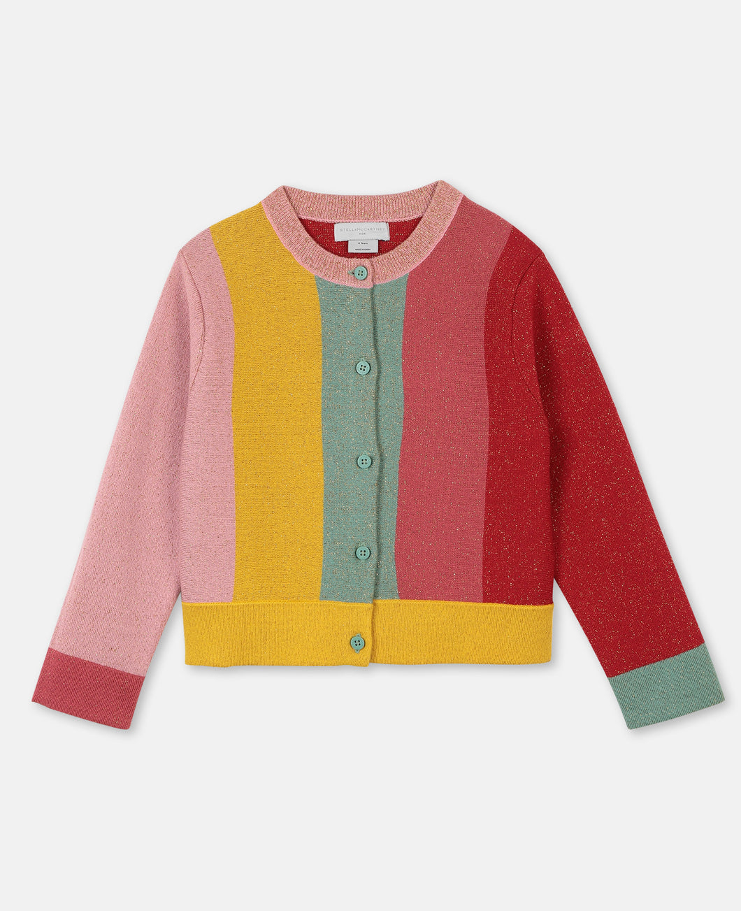 Lurex Knit SMC Baby Cardigan