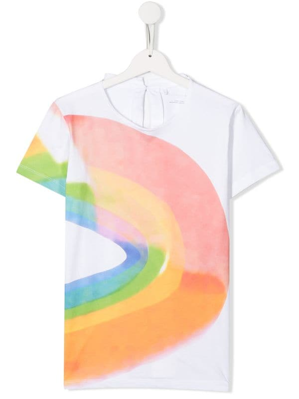 Rainbow Watercolor SMC Tee