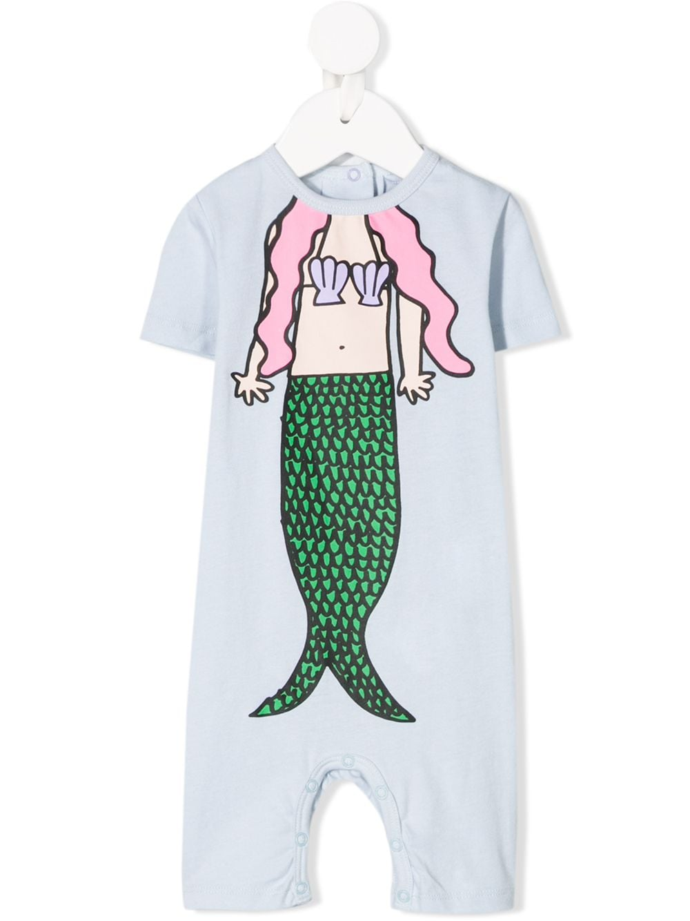 Mermaid Print SMC Baby Jumpsuit