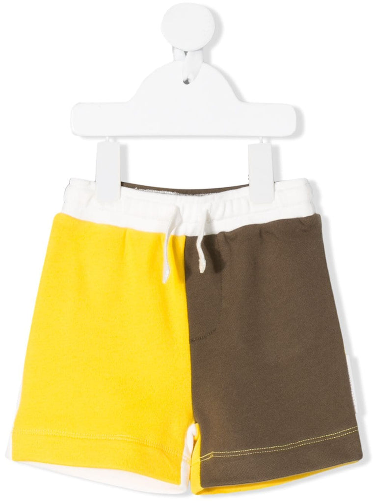 Color Block SMC Baby Shorts