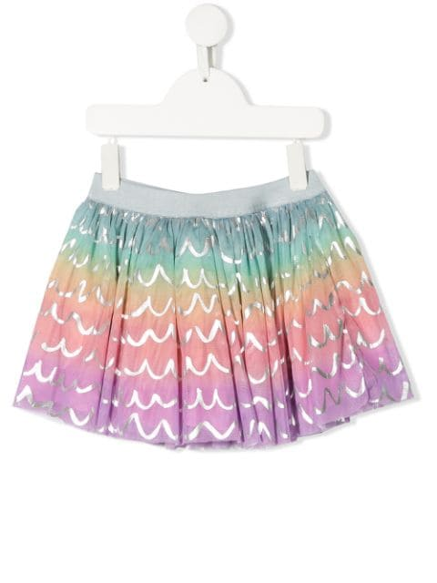 Multicolor Tulle SMC Skirt
