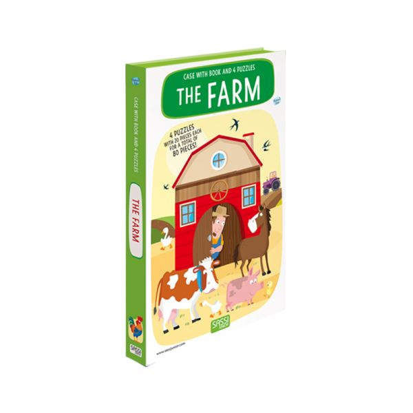 Sassi Book And Puzzle The Farm