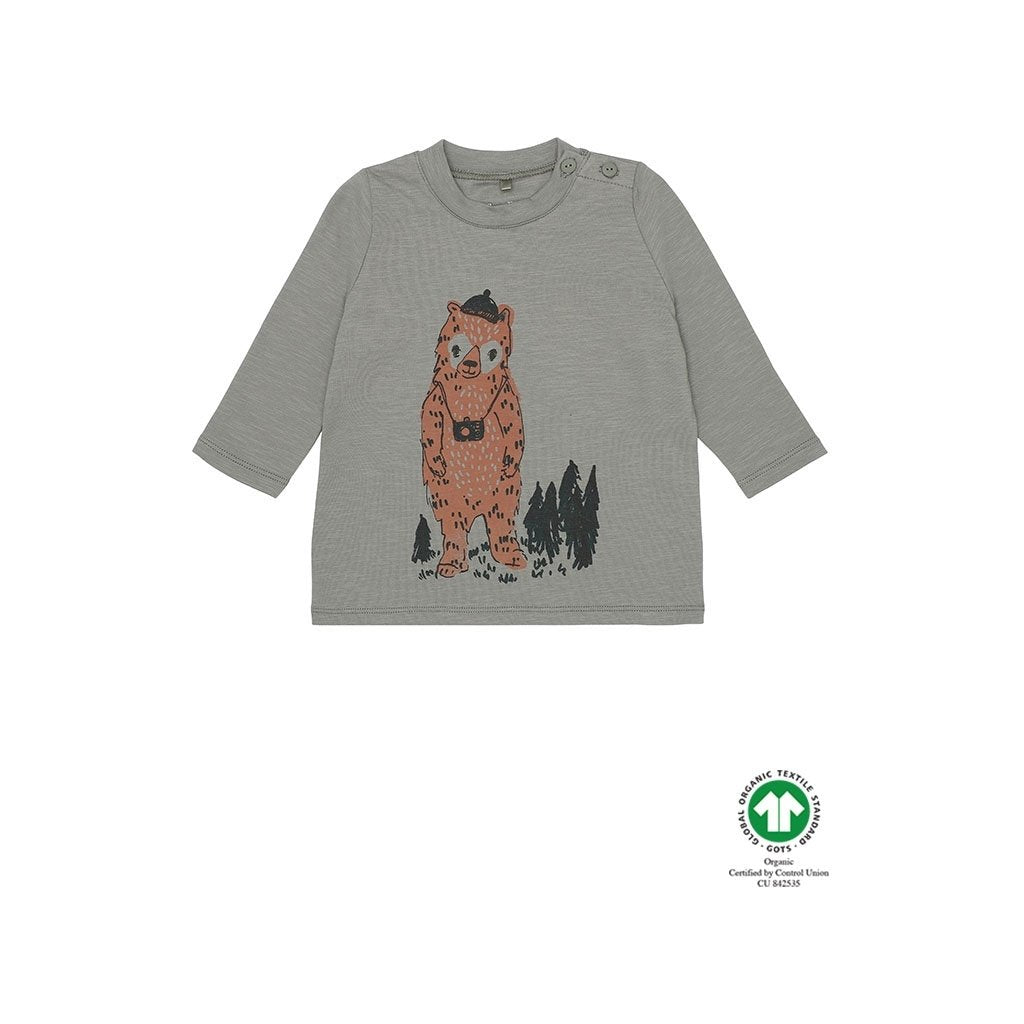 Geo Soft Gallery Adventurebear Baby Tee