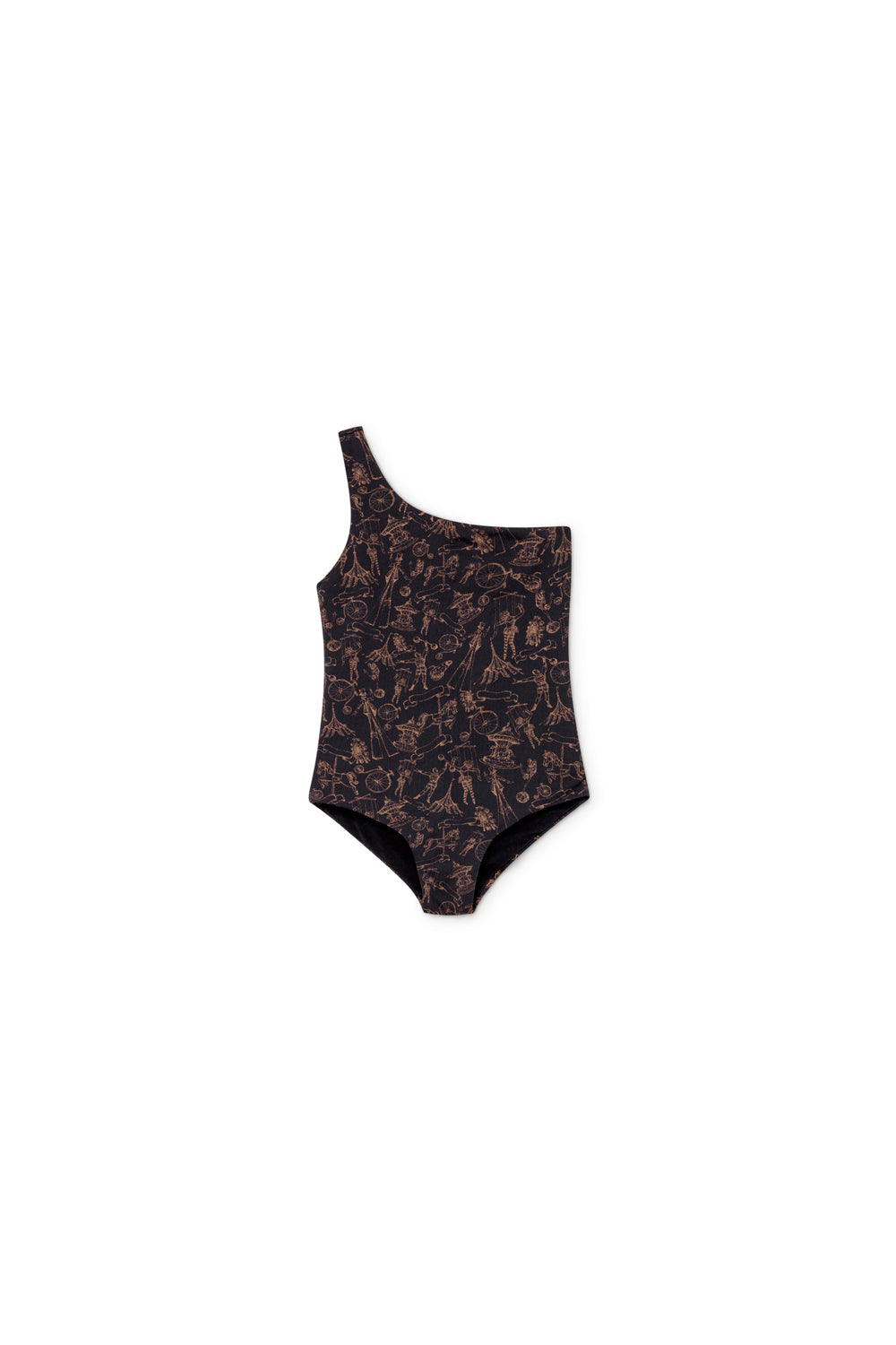 Tattoo Asymetric LCF Bathing Suit