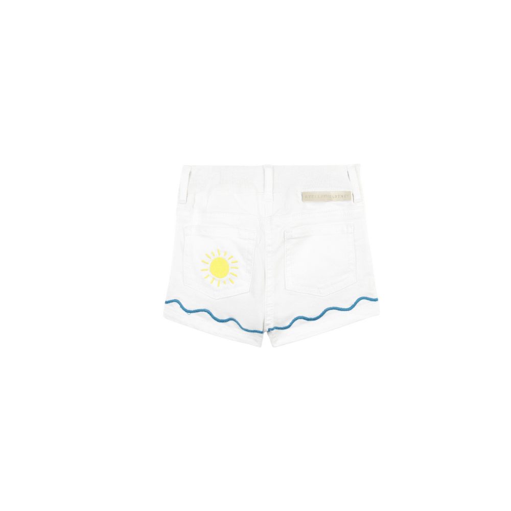 Palm & Sea SMC Baby Denim Shorts