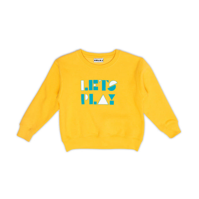 Let's Play Shapes Sweater