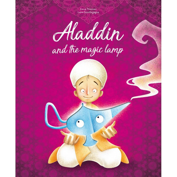 Sassi Die-Cut Reading Aladdin And The Magic Lamp
