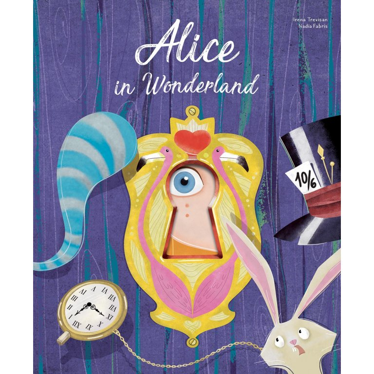 Sassi Die-Cut Reading Alice In Wonderland