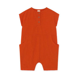 Crushed Cotton LCF Baby Jumpsuit