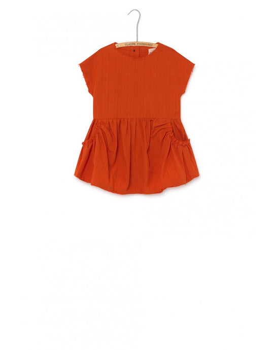 Crushed Cotton LCF Baby Dress