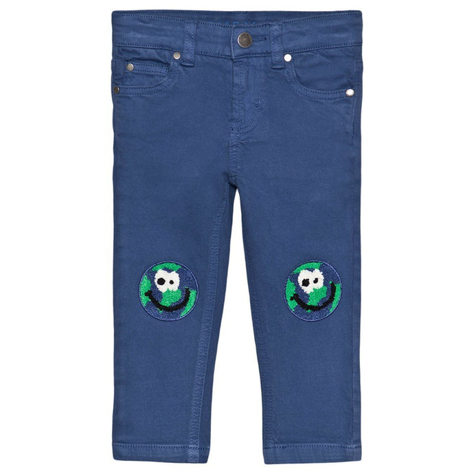 Earth Embroidered SMC Denim Pants