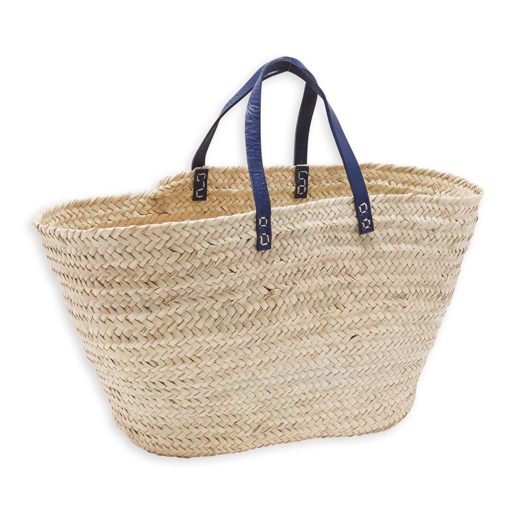 Leather Strap Bonton Basket