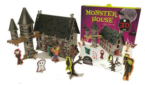 Sassi Book and 3D Model Monster House