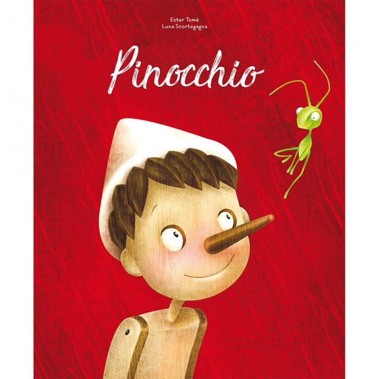 Sassi Die-Cut Reading Pinocchio