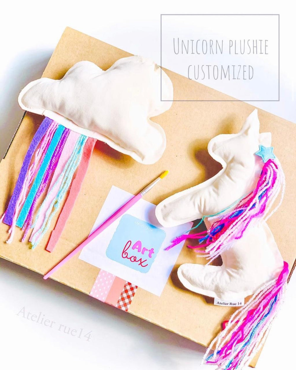 Unicorn Cloud Rue 14 Plushie