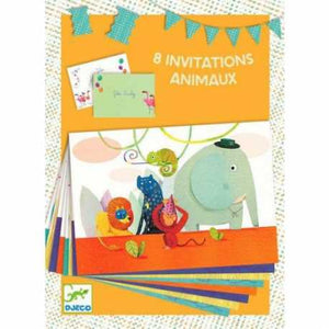 DD04770 Djeco Invitation Cards