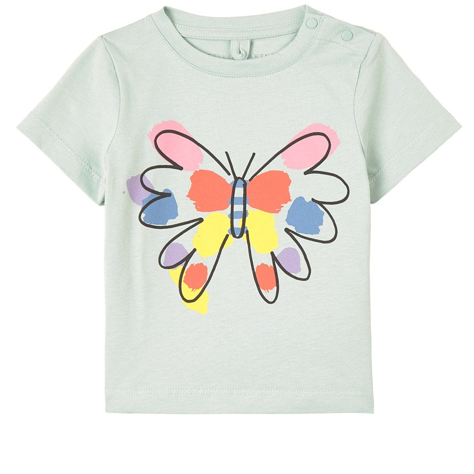 Paint Butterfly SMC Baby Tee