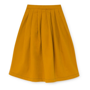 Pleated LCF Wax Skirt