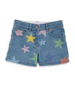 Multicolor Stars SMC Denim Shorts