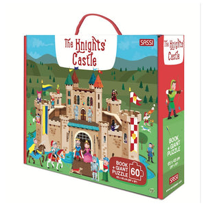 Sassi Giant Puzzle And Book The Knights' Castle