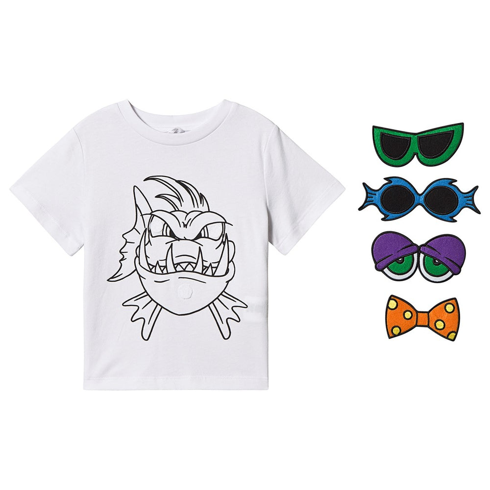 Funny Face SMC Angry Fish Tee