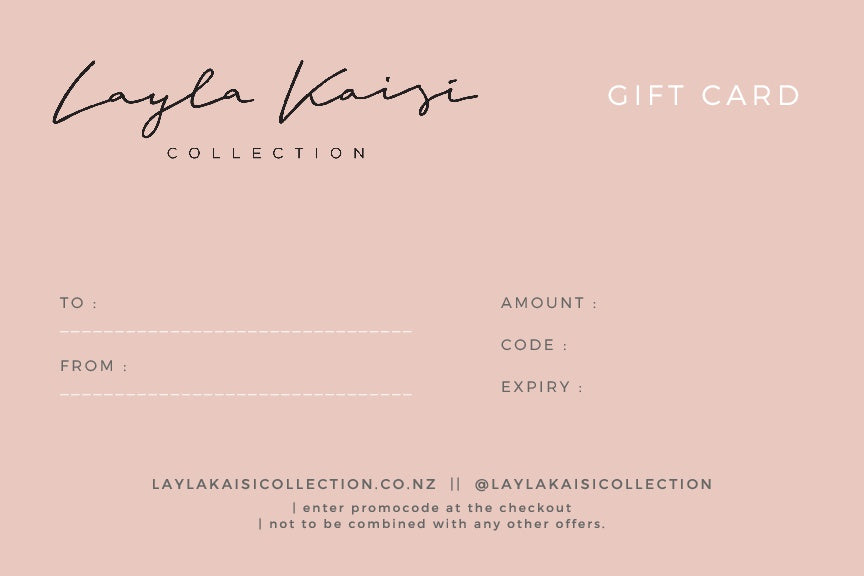Gift Card - Layla Kaisi Collection