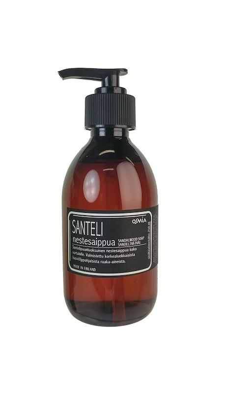 Nestesaippua Santeli 250 ml Soap Osmia