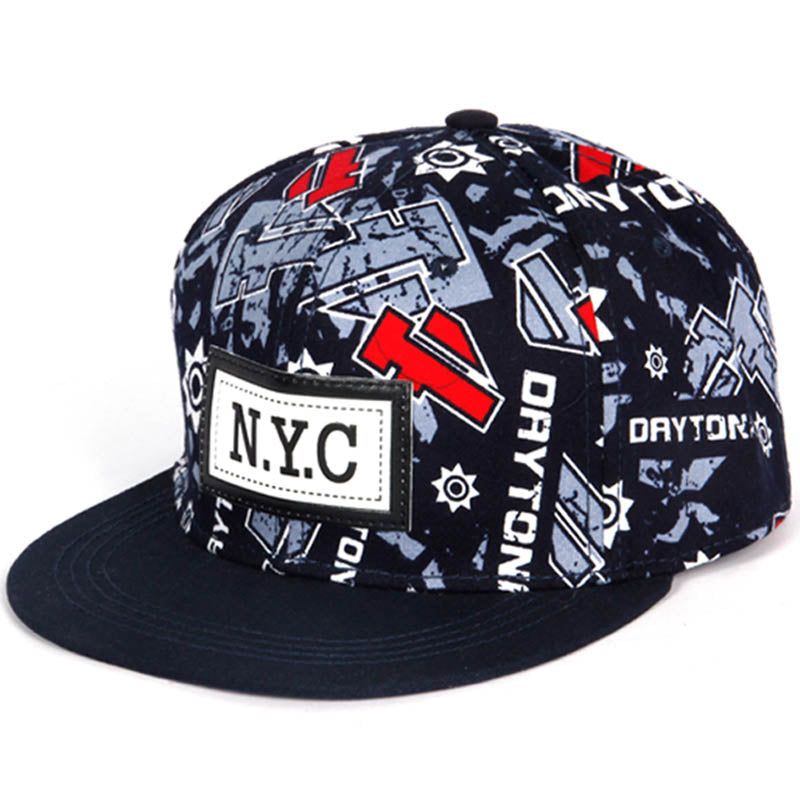 Letter Print NYC Casual Baseball Hat*