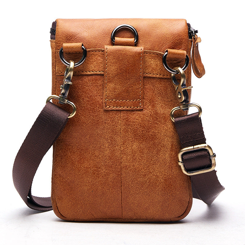 Load image into Gallery viewer, 100% Genuine Leather Vintage Crossbody  Messenger Bag  ... b76b648bff