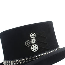 Load image into Gallery viewer, 100% Wool Steampunk Top Hat*