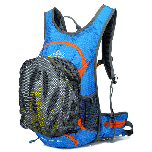 15L Ultra-Light Bicycle Hydration Rucksack w/Helmet Net