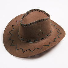 Load image into Gallery viewer, Unisex Cowboy Hat - Cowboy Hat Anti-UV Face -Protection Summer Sun Hat Belt Buckle