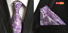 Load image into Gallery viewer, 100% Silk Formal Tie And Pocket Square Set*