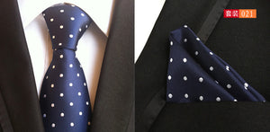 100% Silk Formal Tie And Pocket Square Set*