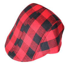 Load image into Gallery viewer, Kid's Newsboy caps- Boy beret hat- Baby Plaid berets