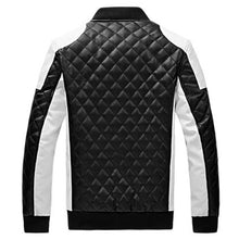 Load image into Gallery viewer, Men's Fashion Leather Jacket w/Casual Design-  Plus Sizes available