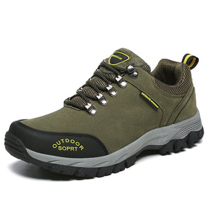 Mens Outdoor Comfortable Air Mesh Trekking Shoes