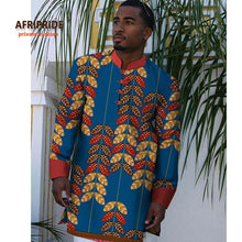 Load image into Gallery viewer, AFRIPRIDE Private Custom Long Sleeve Dashiki Shirt