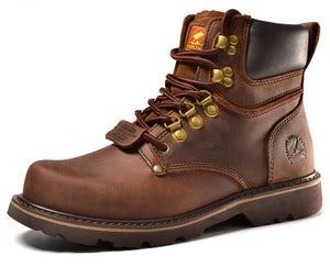 Mens Full Grain Leather Work Boots