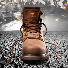 Load image into Gallery viewer, Mens Full Grain Leather Work Boots