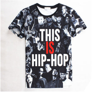 "3D Digital ""This Is Hip-Hop"" T-Shirt"