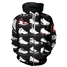 Load image into Gallery viewer, Classic 3D Hooded Jordan Print Sweatshirt* (S-6XL)