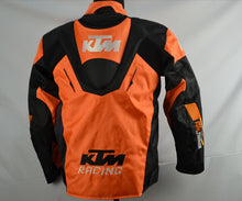 Load image into Gallery viewer, KTM Wind & Waterproof Padded Motorcycle Jacket