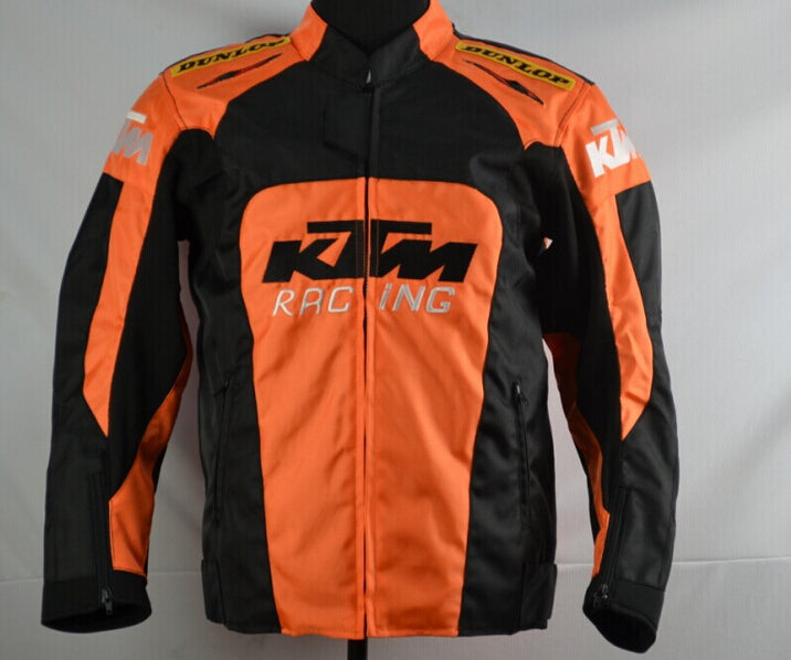 KTM Wind & Waterproof Padded Motorcycle Jacket