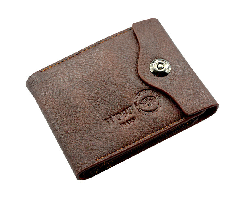 Men's Leather Trifold Wallet