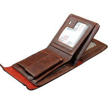 Load image into Gallery viewer, Men's Leather Trifold Wallet