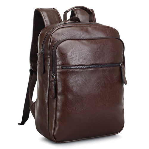 Leather Patchwork High Quality Travel Rucksack